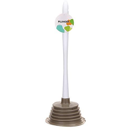 H·Aimee Saugglocke Abflußreiniger Toiletten-Luftstößel,leistungsstarker Abfluss-Kolben,Multifunktionale Reinigungspumpe verwendbar für Toilette,Badewanne,Dusche,Wanne