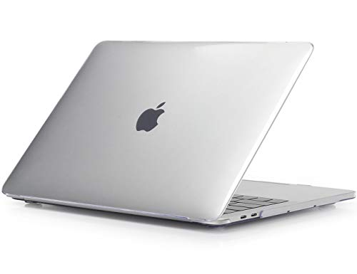 ProCase MacBook Pro 13 inch Case 2020 2019 2018 2017 2016 Release A2338 M1 A2289 A2251 A2159 A1989 A1706 A1708, Hard Case Shell Cover for MacBook Pro 13 inch with/Without Touch Bar -Crystal