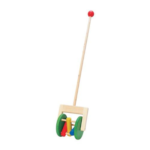 Bayo push toy colorful rattle [Bonerundo] (japan import)