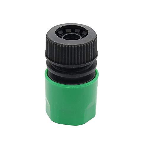 Con Aire De Tuberías 1/2' repare la manguera de agua Conectores de manguera de jardín de plástico Conjunto de conector de acoplamiento rápido de agua de riego de jardín Tubería Montaje de 2PCs