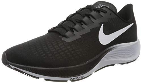 Nike Air Zoom Pegasus 37, Chaussure de course tout terrain Homme, Noir/Blanc, 42.5 EU