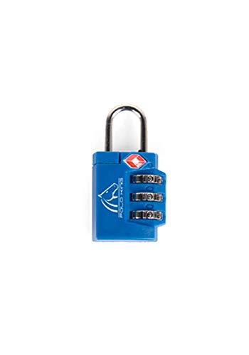 Cadeado para Bagagem TSA Polo King, Adulto Unissex, Azul