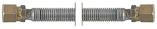 Roller Grill gasslang voor Salamander GSM60, SGF80 lengte 560mm CNS voor buis 10mm slangmateriaal