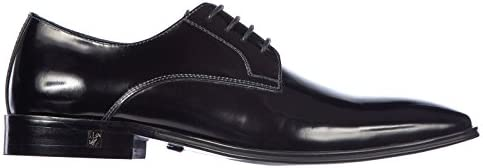 Versace Collection Men s Classic Leather Lace up Laced Formal Shoes Derby Black US Size 8 product image