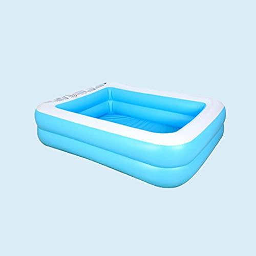 BHPL Piscina Inflable de tamaño Completo para el jardín, Piscina Inflable de la Fiesta de Agua de Verano, explotar jardín de la Piscina, al Aire Libre, Patio Trasero, para Mayores de 3 años,S