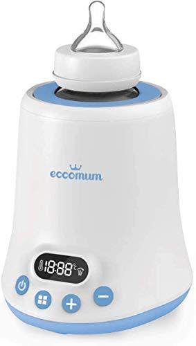 Eccomum - Scaldabiberon con timer, con display LCD,...