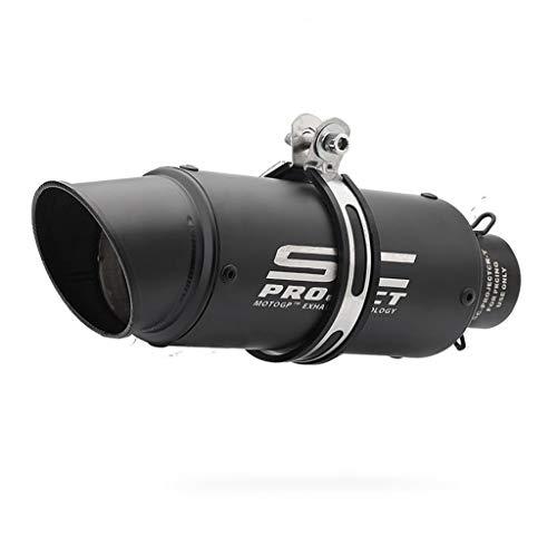 51mm - auto deportivo de Yamaha R6 tubo de escape SC láser de gran desplazamiento estándar de toda la motocicleta barril negro modificado universal de tubo de escape