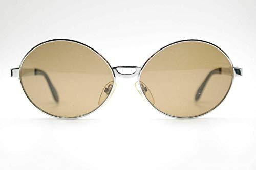 Rodenstock Palmira 62[]22 zilver ovaal zonnebril zonnebril nieuw