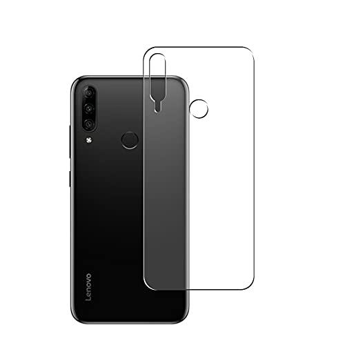 Vaxson 2-Pack Back Protector Film, compatible with Lenovo K10 Plus, TPU Guard Cover Skin [Not Tempered Glass/Not Front Screen Protectors]