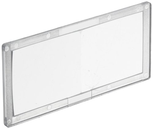 Jackson Safety Welding Magnifier (Cheater Lens) Plate, 1.0 Diopter, Polycarbonate, Clear, 16052