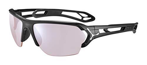 Cébé S'Track L Gafas de sol Matt Black Silver Unisex-Adult Large