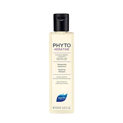 Phyto Phytokeratine Shampoo Riparatore con Cheratina per Capelli Rovinati, che si Spezzano, Formato da 250 ml