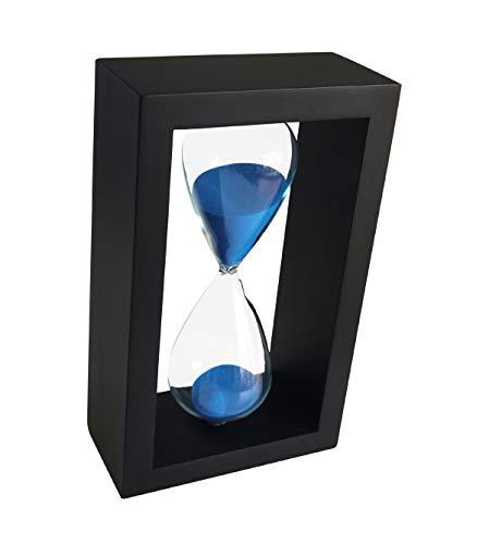 Reloj De Arena 45 Minutos Ornamento Reloj De Arena Temporizador Para Decoración Navidad Año Nuevo Cumpleaños Estante De Libros Juego De La Escuela Tarea Temporizador De Arena 45 Min Hourglass Azul