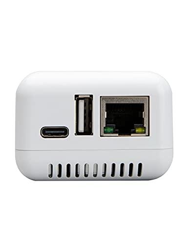 LOYALTY-SECU Adaptador de Impresora inalámbrico Bluetooth Servidor de impresión USB
