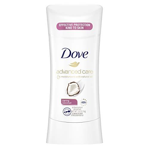 dove womans deodorants Dove Deodorant 2.6 Ounce Adv Care Anti-Perspirant Coconut (76ml)