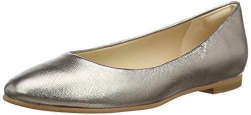 Clarks Damen Grace Piper Geschlossene Ballerinas, Grau (Stone), 38 EU