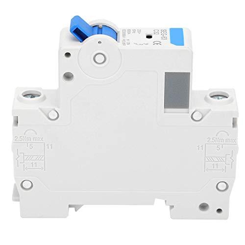 YIUS Disyuntor de 230 V Instalación en riel DIN Manejo Operación Interruptor de aire en miniatura Protección SEG-63(C6)