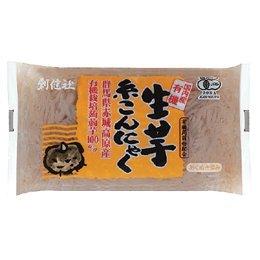 創健社 有機 生芋糸こんにゃく 250g ×4セット