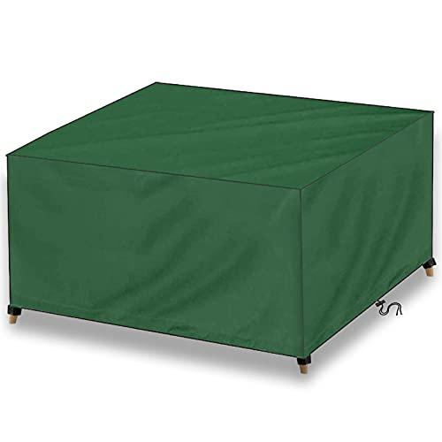 Abdeckung für Gartenmöbel, Abdeckplane Gartenmöbel, Wasserdicht Anti-UV, 420D Oxford Rechteckig Schutzhülle für Gartenmöbel Gartentische Möbelsets 320x280x100cm