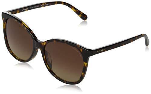 Gafas de Sol Coach HC 8271U Dark Havana/Brown Shaded 57/16/140 mujer
