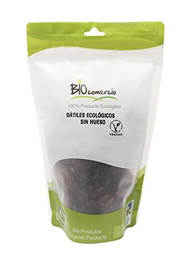 BIOCOMERCIO   Dátiles Ecológicos sin hueso   Dátil ecológico   500 gramos   Dátiles sin hueso   Frutos secos   Fruta desecada