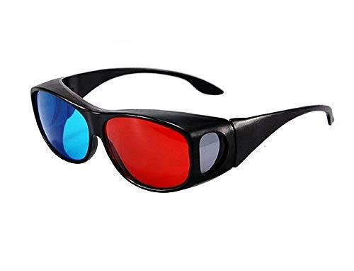 Gafas anaglíficas - visión 3D TV - Cine - Juegos - Unisex...