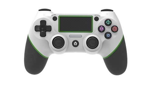 Wireless Controller für PS4,Game Controller Gamepad für Playstation 4/Playstation 4 Slim/Pro/PC/Laptop Touchpanel Joypad mit Dual Vibration Game Fernbedienung,RGB-Anzeige & Anti-Rutsch-Griffen