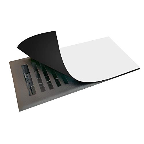 Strongest Available Magnetic Vent Cover 5.5' x 12' (3 Pack), Superior Hold Vent Covers for Home, Air Vent Covers for Floor, Wall, Ceiling Vents, RV, Easily Cut to Any Size