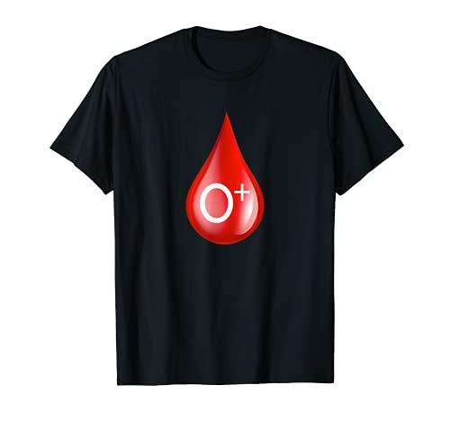 O陽性血液型O +ドナー献血 Tシャツ