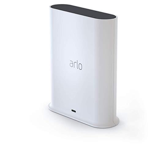 Accessoire Arlo - Station d'accueil avec Sirène Intégrée, Compatible avec les Caméras Arlo, Arlo Pro, Arlo Pro 2, Pro 3 et Ultra - Nouveau modèle (VMB5000)