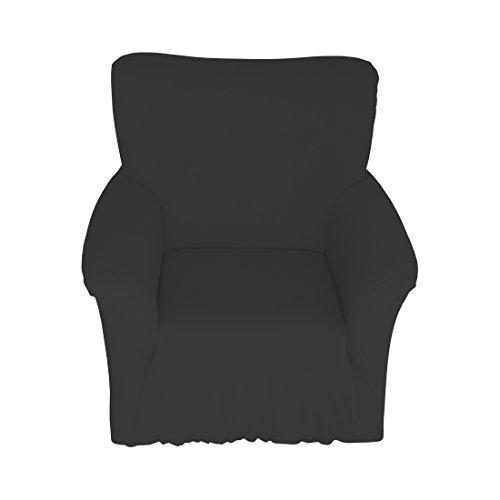 Qool24 Sofahusse Jersey Spannbezug Baumwolle Sofahussen Sofabezug Sesselbezug in 9 Farben und 3...