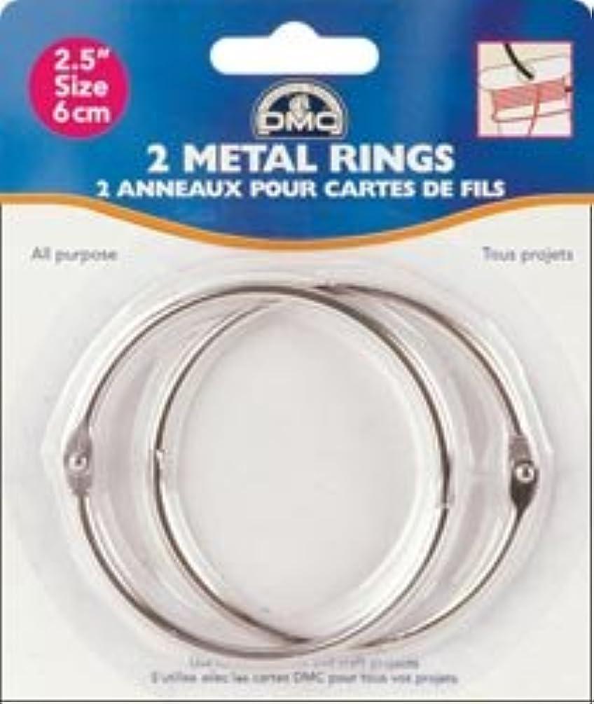 Bulk Buy: DMC Metal Rings 2 1/2