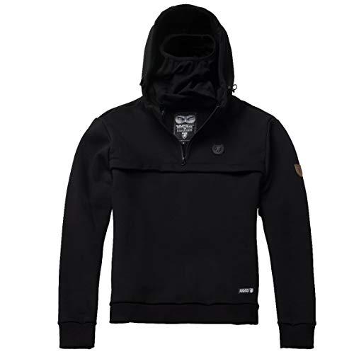Tex-Ha PG Wear Frontliner Full Face schwarz Hoodie Kapuzenpullover (2XL)