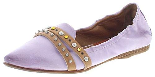 FB Fashion Boots Damen Schuhe A.S.98 525125 Airsteps Ballerinas Lederschuhe Lila 40 EU inkl. Schuhdeo
