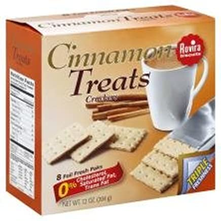 Rovira - Cinnamon Treats Crackers (8 foil fresh packs/box) - 9.6 oz