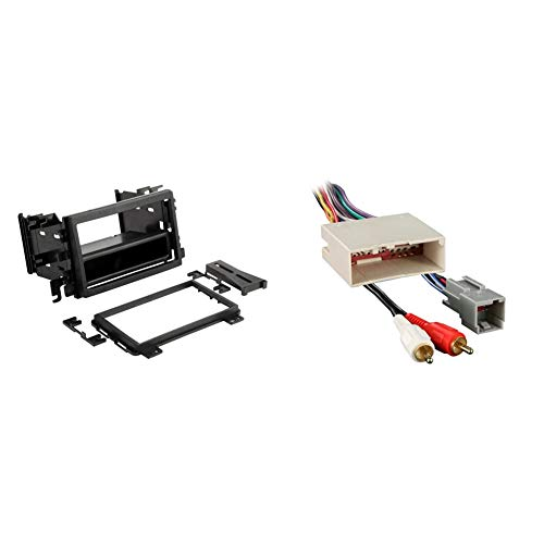 SCOSCHE FD3090B Double DIN Pocket Stereo Dash Kit for 1995-2014...