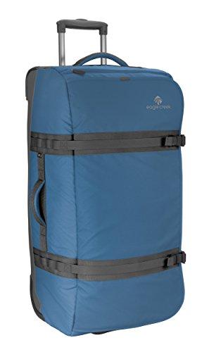 Eagle Creek Lightweight Wheeled Holdall Travel Bag No Matter What Flatbed Duffel 32 Luggage, Slate Blue Mallette Ordinateur à roulettes, 81 cm, 101 liters, Bleu (Slate Blue)