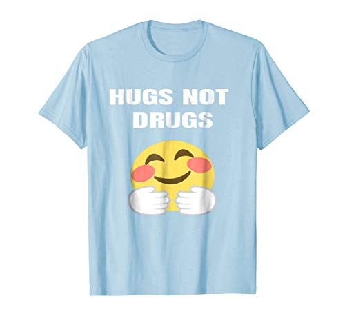 Hugs not Drugs AA NA Anonymous T-shirt Men Women Gift