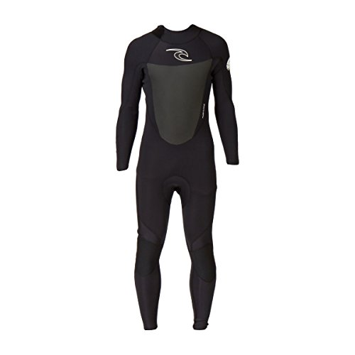Rip Curl Dawn Patrol 4/3mm GBS Back Zip Steamer Wetsuit BLACK WSM4EM Wetsuit Sizes - Small