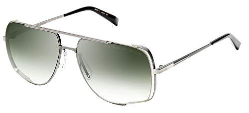 Dita Gafas de Sol MIDNIGHT SPECIAL Silver/Green Shaded 60/16/140 hombre
