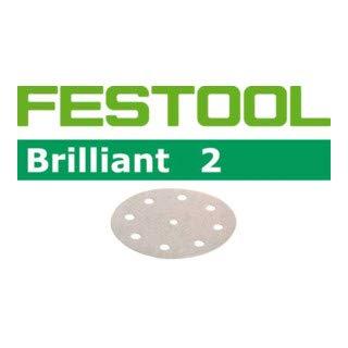 100x Festool Schleifscheiben STF D125/8 P180 BR2/100 Brilliant 2