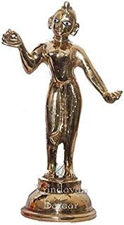 VRINDAVANBAZAAR.COM Asta Dhatu (8 Metals Made) Radha Idol/Radhey Idol/Brass Radha- Height 12 inch
