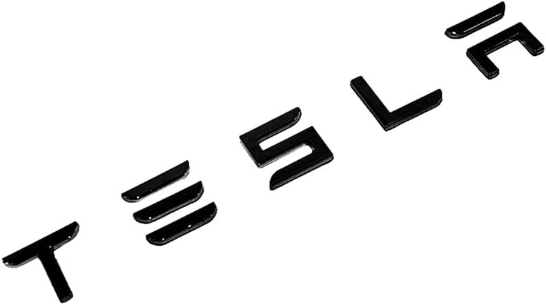Amazon.com: Manfox 3D Raised Tailgate Insert Letters Rear Emblems, Plastic Inserts with 3M Adhesive Backing Replacement (Gloss Black) : Automotive