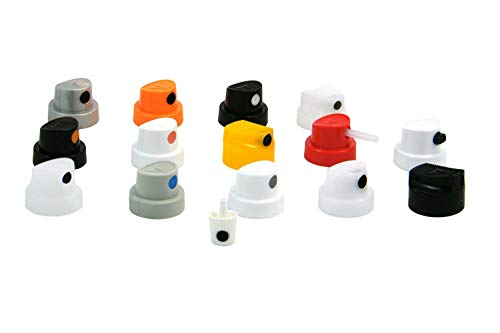 MONTANA Spray caps kit diffusori per bomboletta spray 15pz. Assortiti Testine spruzzo
