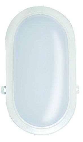 VeLamp TARTARUGA-XXL Applique LED IP66, Plastique, 20 W, Blanc