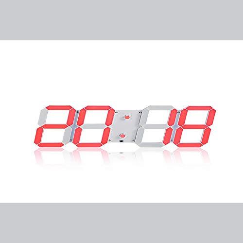 Bubbry led-spiegel met afstandsbediening, wekker, licht, afstandsbediening