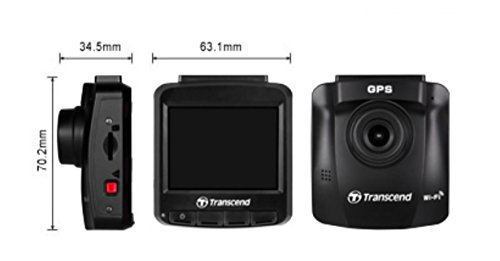 Transcend TS16GDP230M DrivePro 230 Full-HD Autokamera - 6