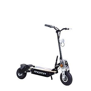 """Moma Bikes 8436578262175, Monopattino Elettrico Pieghevole da 2100 W, Ruote da 10"""", 42 H, Autonomia 25 Km Unisex – Adulto, Nero, Taglia Unica"""