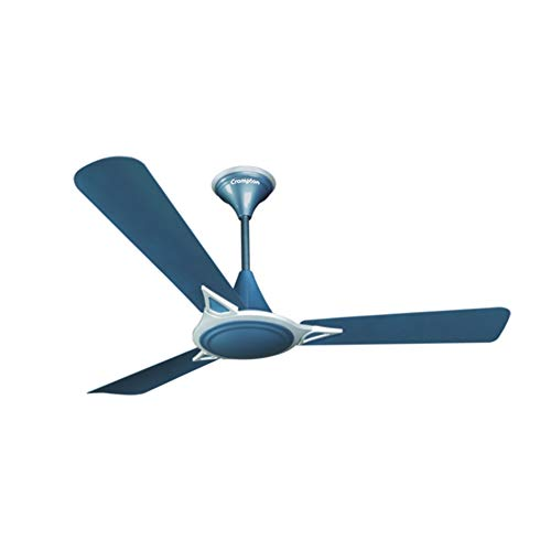 Crompton Avancer Prime 1200 mm (48 inch) Decorative Ceiling Fan with Anti Dust Technology (Indigo Blue)