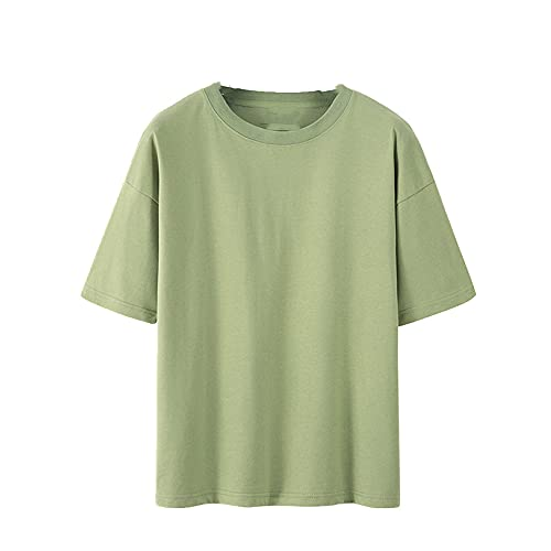 Verano Camisas Mujeres Manga Corta Amantes Camisa Suelta Señora Tops